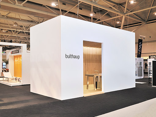 bulthaup Messestand für die International Design Show – Toronto