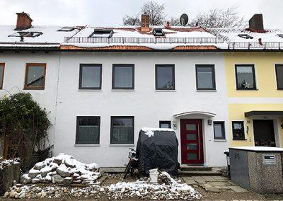 Sanierung, Umbau und Innenausbau Reihenmittelhaus – Planegg