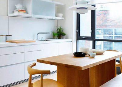 Stadthaus Umbau Küchenbereich – Toronto