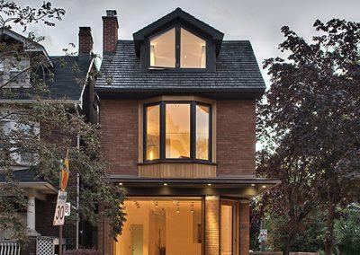 Sanierung denkmalgeschütztes Wohn- und Geschäftshaus – Toronto