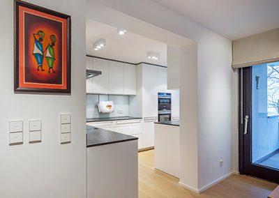 Sanierung, Um- und Innenausbau Wohnung – München-Nymphenburg